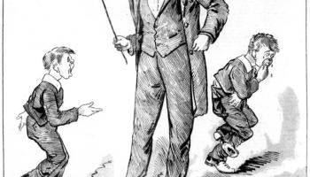 cartoon_of_students_receiving_the_cane_1888